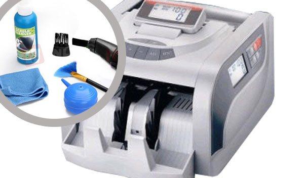 Vài mẹo nhỏ giúp vệ sinh máy đếm tiền tại nhà